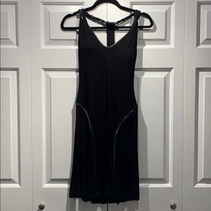 Gorgeous Black Guess Beaded Racerback Dress